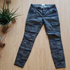 Caslon skinny camo cargo pants!